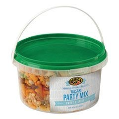 All Tyme Favorite Nuts, Wasabi Party Mix, 9 oz Tub