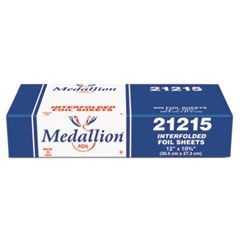 Medallion Interfolded Foil Sheets, 12 x 10 3/4, 200/Box, 12 Box/Carton