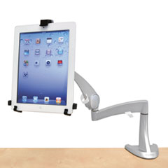"Neo-Flex LCD Arm, For 22"" Monitors, 360 Degree Rotation, 180 Degree Tilt, 360 Degree Pan, Silver, Supports 18 lb"