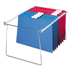 "Hanging Folder Frame, Letter Size, 23-27"" Long, Steel, 2/Pack"