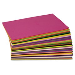 WonderFoam Peel & Stick Sheets, Assorted Colors, 8 1/2 x 5 1/2
