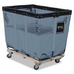 Spring Lift for R16GGXLNN 16-Bushel Liner, 24 x 36, Vinyl/Steel, Gray