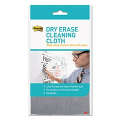 "Dry Erase Cleaning Cloth, Fabric, 10 5/8""w x 10 5/8""d"