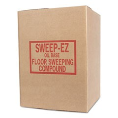 Oil-Based Sweeping Compound, Grit-Free, 100lbs, Box