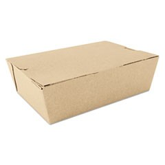 ChampPak Carryout Boxes, Brown, 7 3/4 x 5 1/2 x 2 1/2, 200/Carton