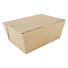 ChampPak Carryout Boxes, Brown, 7 3/4 x 5 1/2 x 3 1/2, 160/Carton