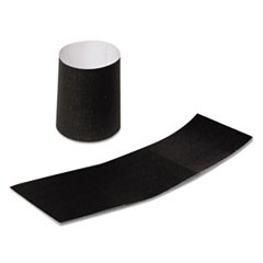"Napkin Bands, Paper, Black, 1 1/2"", 4000/Carton"