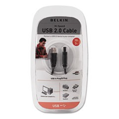 Pro Series High-Speed USB 2.0 Cable, 10 ft.