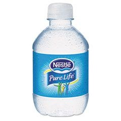 Pure Life Purified Water, 8 oz Bottle, 48/Carton