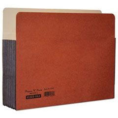 "File Pockets, 5 1/4"" Expansion, Legal, Redrope"
