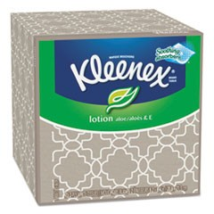 Lotion Facial Tissue, 3-Ply, 75 Sheets/Box