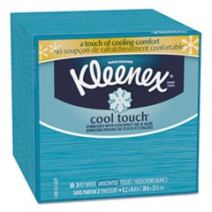 Cool Touch Facial Tissue, 2-Ply, 50 Sheets/Box
