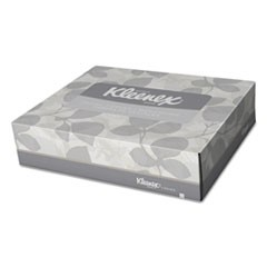 White Facial Tissue, 2-Ply, 65 Tissues/Box, 48 Boxes/Carton