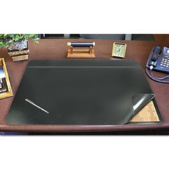 1Hide-Away PVC Desk Pad, 31 x 20, Black