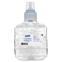 Advanced Green Certified Hand Sanitizer Refill, 1200mL, FragFree, 2/Carton