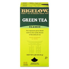 Single Flavor Tea, Green, 28 Bags/Box, 6 Boxes/Carton