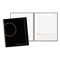 Plan. Write. Remember. Notebook with Reference Calendar, 8 9/16 x 11, Black