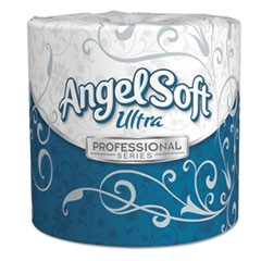 Angel Soft ps Ultra 2-Ply Premium Bathroom Tissue, Septic Safe, White, 400 Sheets Roll, 60/Carton