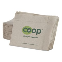 MorNap Jr. Full-Fold Dispenser Napkins, 1-Ply, 13 x 12, White, 600/Pack, 10/CT