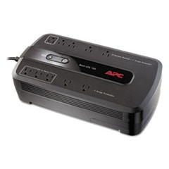Back-UPS 750 Battery Backup System, 10 Outlets, 750 Volt Amps