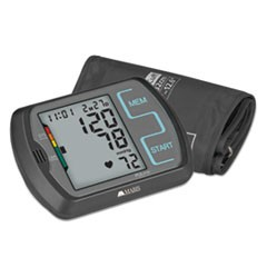 Ultra Digital Blood Pressure Monitor w/Adult, Large Adult Cuffs,4 AA Batteries