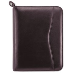 Verona Leather Starter Set, 5 1/2 x 8 1/2, Burgundy Cover