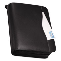 Verona Leather Starter Set, 8 1/2 x 11, Black Cover