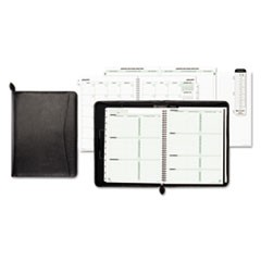 Basque Bonded Leather Organizer, 8 1/2 x 11