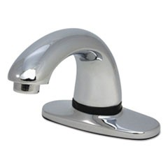 Auto Faucet SST, Milano Design/Polished Chrome, Low Lead, 6 1/2 x 2 1/8 x 3 7/8