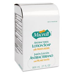 Antibacterial Lotion Soap Refill, Light Scent, Liquid, 800 mL