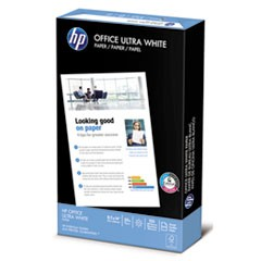 Office Ultra-White Paper, 92 Bright, 20lb, 8-1/2 x 14, 500/Ream