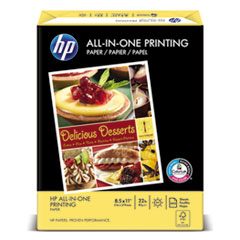 All-In-One Printing Paper, 97 Bright, 22lb, Letter, White, 500 Sheets/Ream
