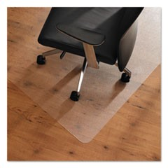Cleartex Unomat Anti-Slip Chair Mat for Hard Floors/Flat Pile Carpets, 35 x 47