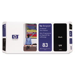 HP 83, (C4960A) UV Black Printhead & Cleaner