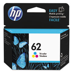 HP 62, (C2P06AN) Tri-color Original Ink Cartridge