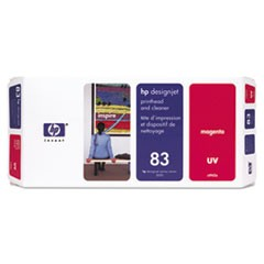 HP 83, (C4962A) UV Magenta Printhead and Cleaner