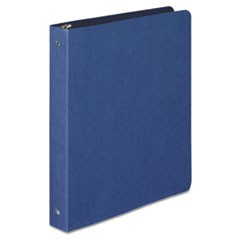 "PRESSTEX Round Ring Binder, 1"" Cap, Dark Blue"