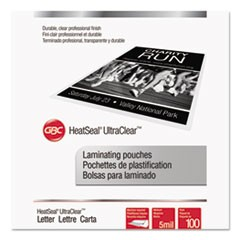 Laminating Pouches, 5 mil, 9 x 11 1/2, 100/Pack