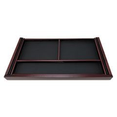 Verona Veneer Series Center Drawer, 29-1/2w x 14-5/8d x 2h, Mahogany