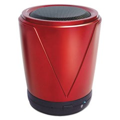 Hot Joe Portable Speaker, Red