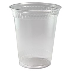 Greenware Cold Drink Cups, 10 oz, Clear, 1000/Carton