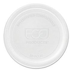 Renewable & Compostable Portion Cup Lids - Universal, 100/PK, 20 PK/CT