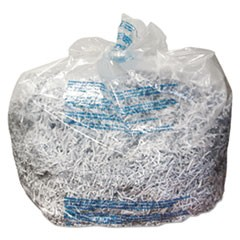Plastic Shredder Bags, 30 gal Capacity, 25/Box