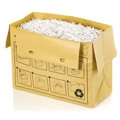 Paper Recycling Bags, 8 gal Capacity, 20/BX