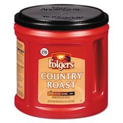 Coffee, Country Roast, Ground, 34 1/2 oz Canister