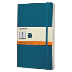 Classic Softcover Notebook, Ruled, 8 1/4 x 5, Underwater Blue Cover, 192 Sheets