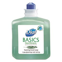 Basics Foaming Hand Wash, Refill, Honeysuckle, 1,000 mL, 6/Carton