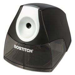 "1Personal Electric Pencil Sharpener, AC-Powered, 4.25"" x 8.4"" x 4"", Black"