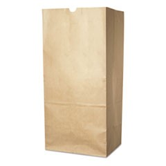Lawn/Leaf Self-Standing Bags, 30 gal, 16 x 12 x 35, Kraft Brown, 50/Carton