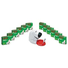"Dog Tape Dispenser Value Pack, 1"" Core for up to 3/4"" Tapes"